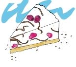 raspberry chocolate cheesecake