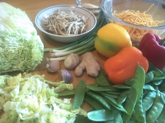 chow ingredients
