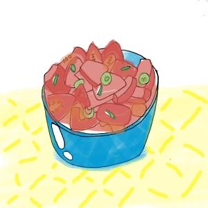 Mind Over Tomatter Salad