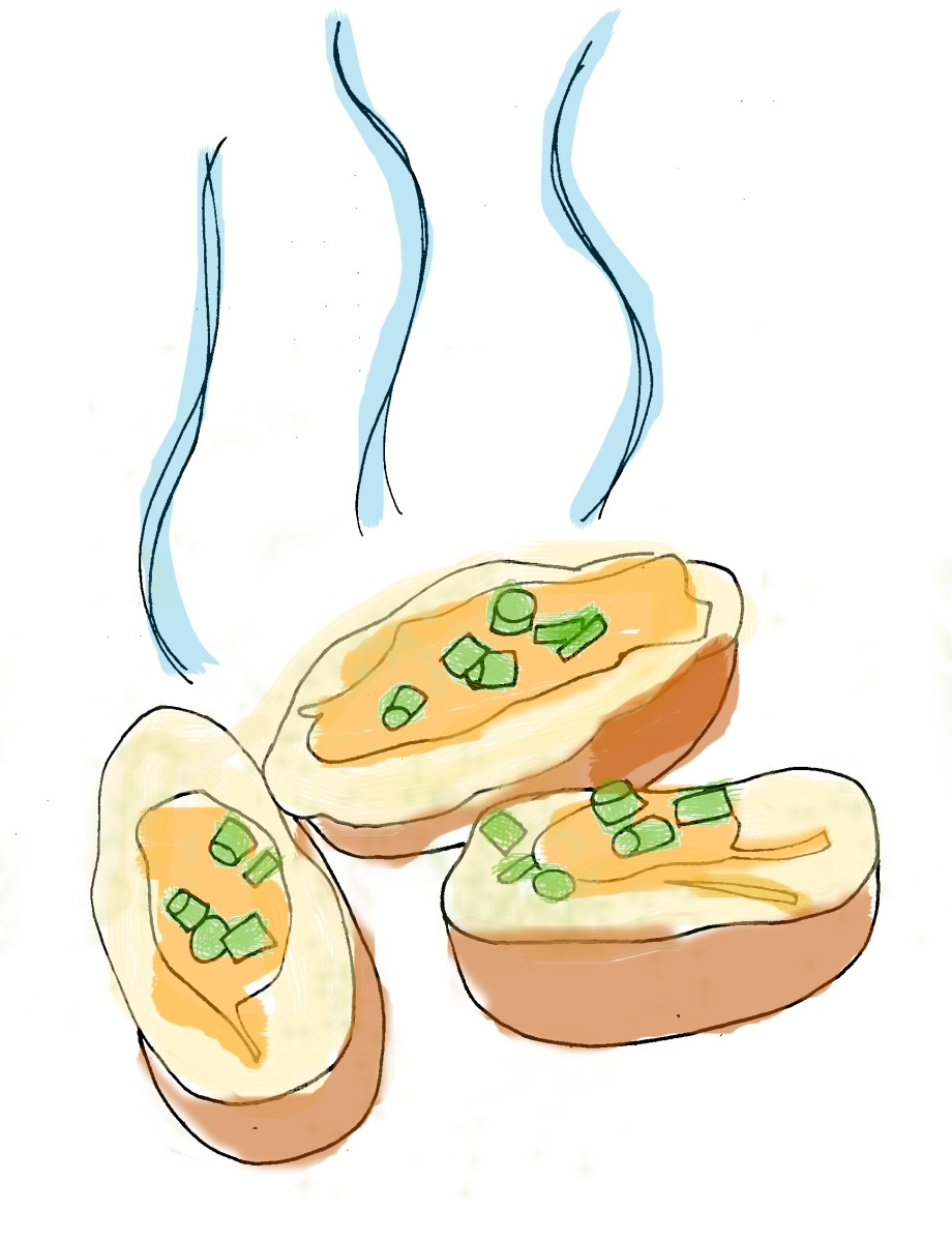 Haters Gonna Hate, Potatoes Gonna Potate (Potato Skins)