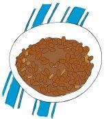 johnny bean goode bbq beans illustration