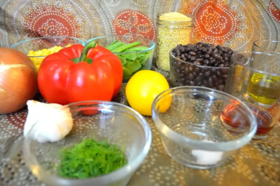 Once In A Millet Salad Ingredients