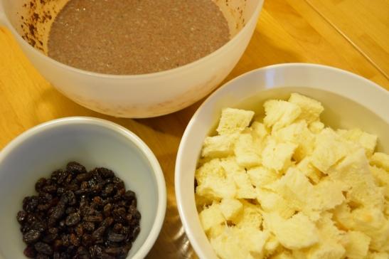 Cinna-Rum Bread Pudding | OhMyPotluck.com