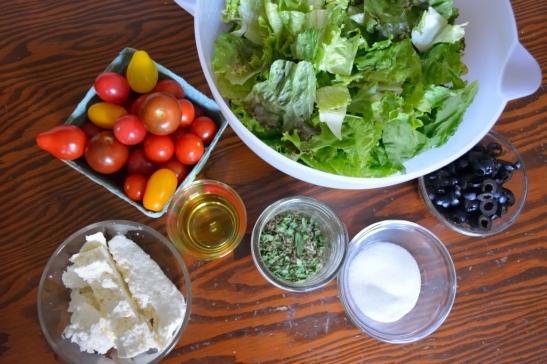 Easy Does Italian Salad from Oh My Potluck.com