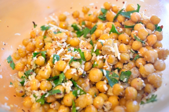 Fried and True Chickpeas | OhMyPotluck.com