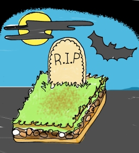 Graveyard Squares | OhMyPotluck.com